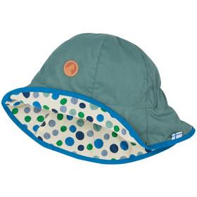 Finkid Dotti Nakrycie głowy Dzieci, trellis/pebbles blue